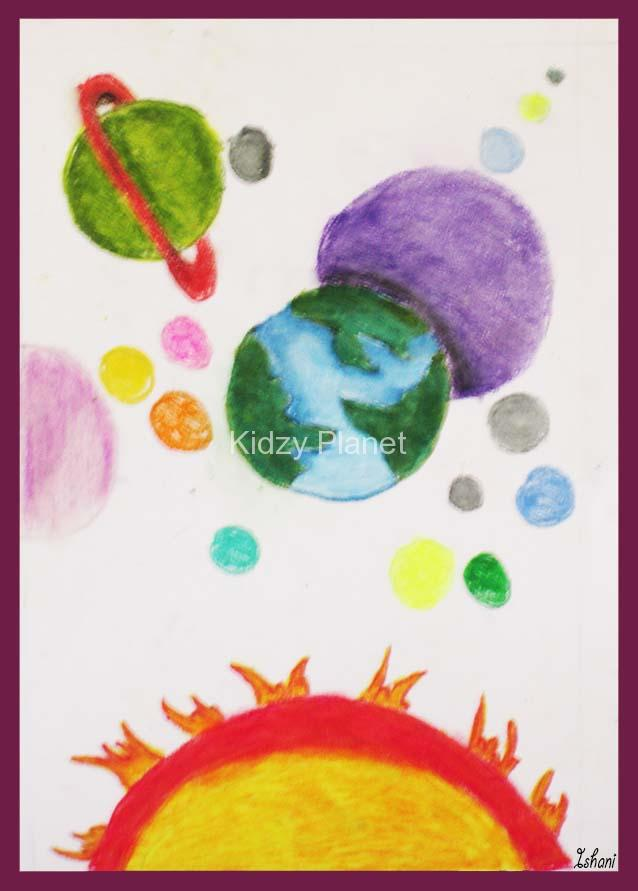 638x891 Solar System Drawing For Kids