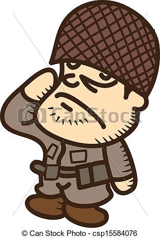 315x470 Soldier Cartoon Vectors Illustration