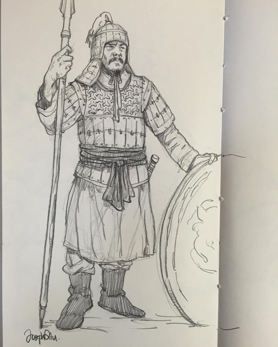 1080x1349 I Have Drawing European Historical Warriors A Lot. Time To Do