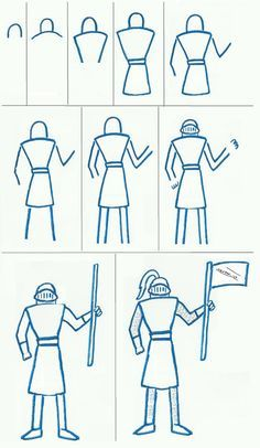 236x406 Easy Knight To Draw Art Class Ideas Holiday Club