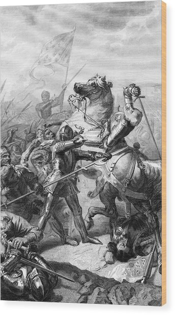 344x618 Battle Of Castillon Foot Soldiers Drawing By Mary Evans Picture