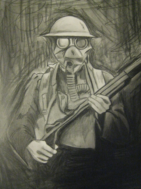 480x640 Charcoal Drawings Of Ww1 Soldiers