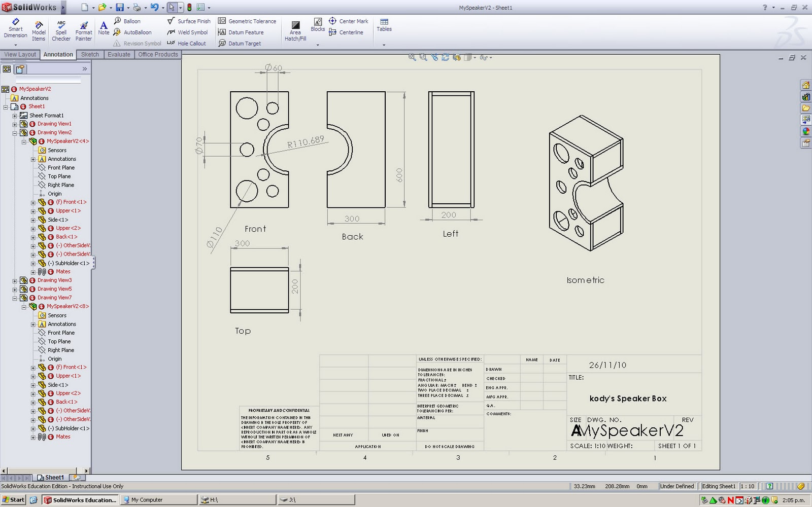 solidworks engineering drawing at free for personal use solidworks engineering. Black Bedroom Furniture Sets. Home Design Ideas