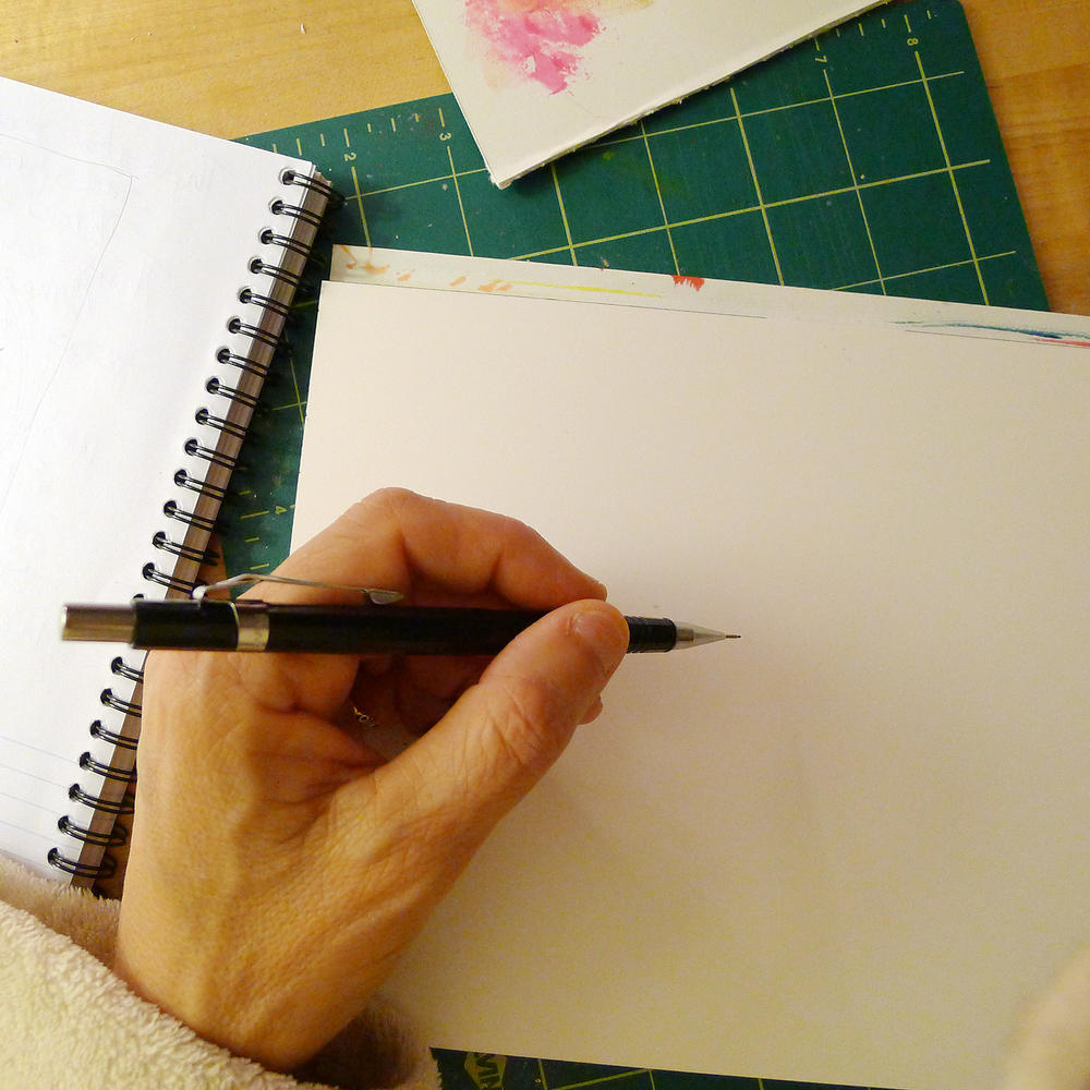 1000x1000 Gallery Image Of Someone Drawing,