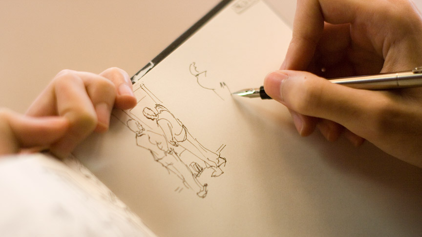864x486 Gallery Image Of Someone Drawing,