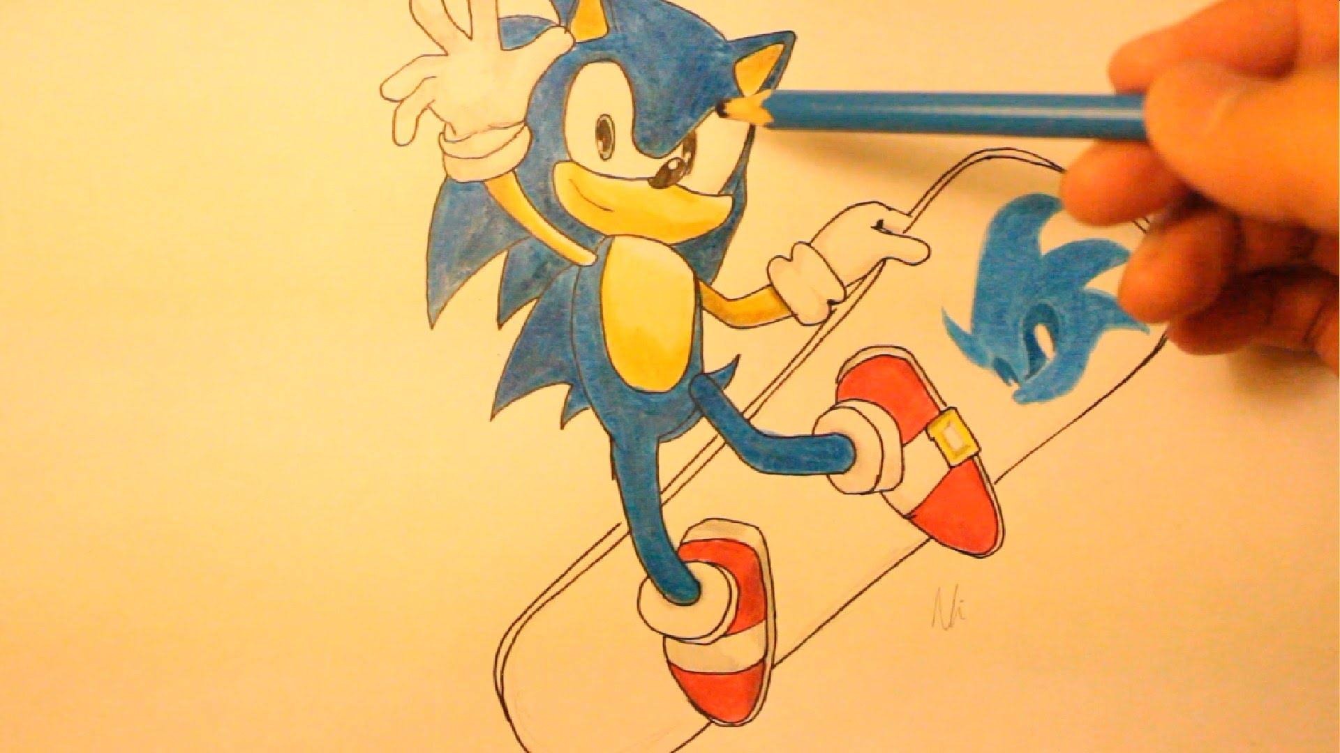 1920x1080 Drawing Of Sonic Characters How To Draw Sonic Boom Characters