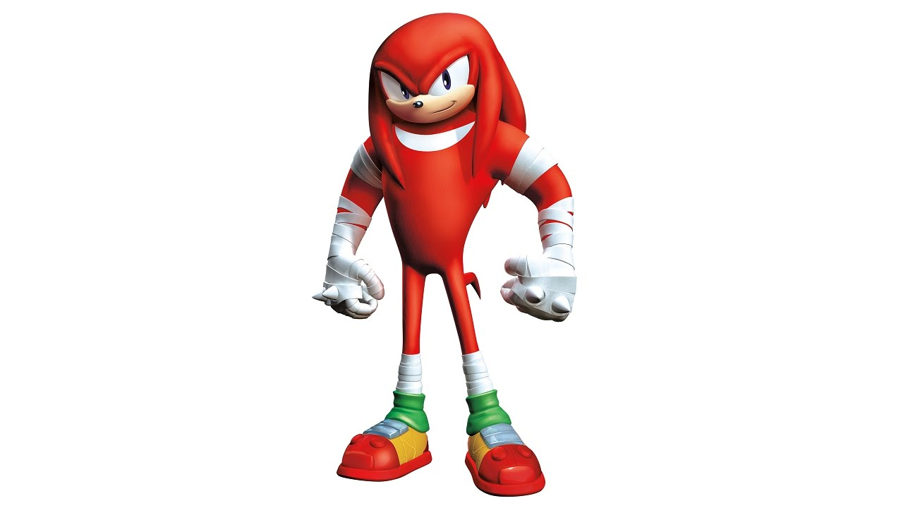 1280x720 How To Draw Knuckles (Sonic Boom)