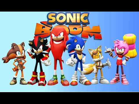 480x360 How To Draw Sonic Boom Characters 3d