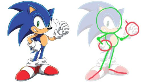 496x289 How To Draw Sonic The Hedgehog A Smashing Tutorial Hubpages