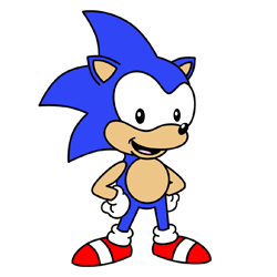 250x250 How To Draw Sonic The Hedgehog
