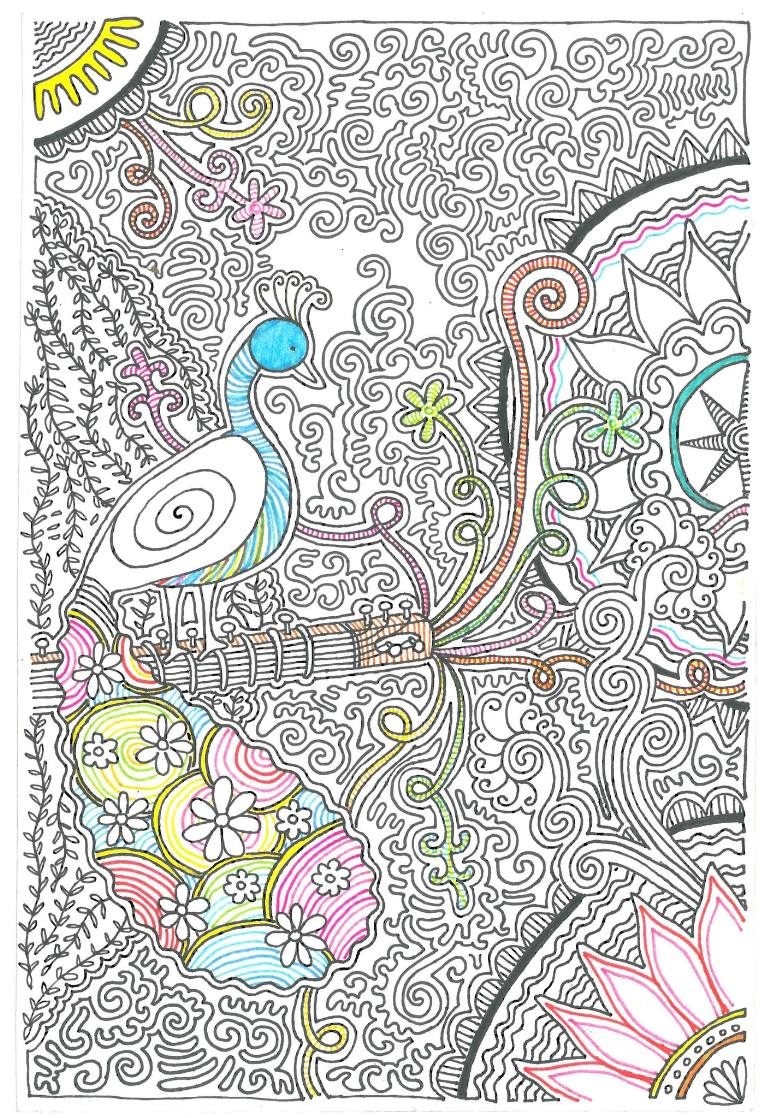 770x1118 Saatchi Art For There Is Music In Every Sound Drawing By Chitrank