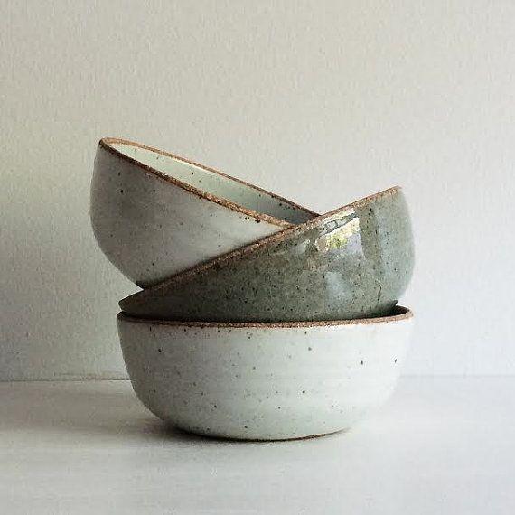 570x570 Handmade Pottery Soup Bowl, Stoneware Ceramic Bowl, Salad Bowl