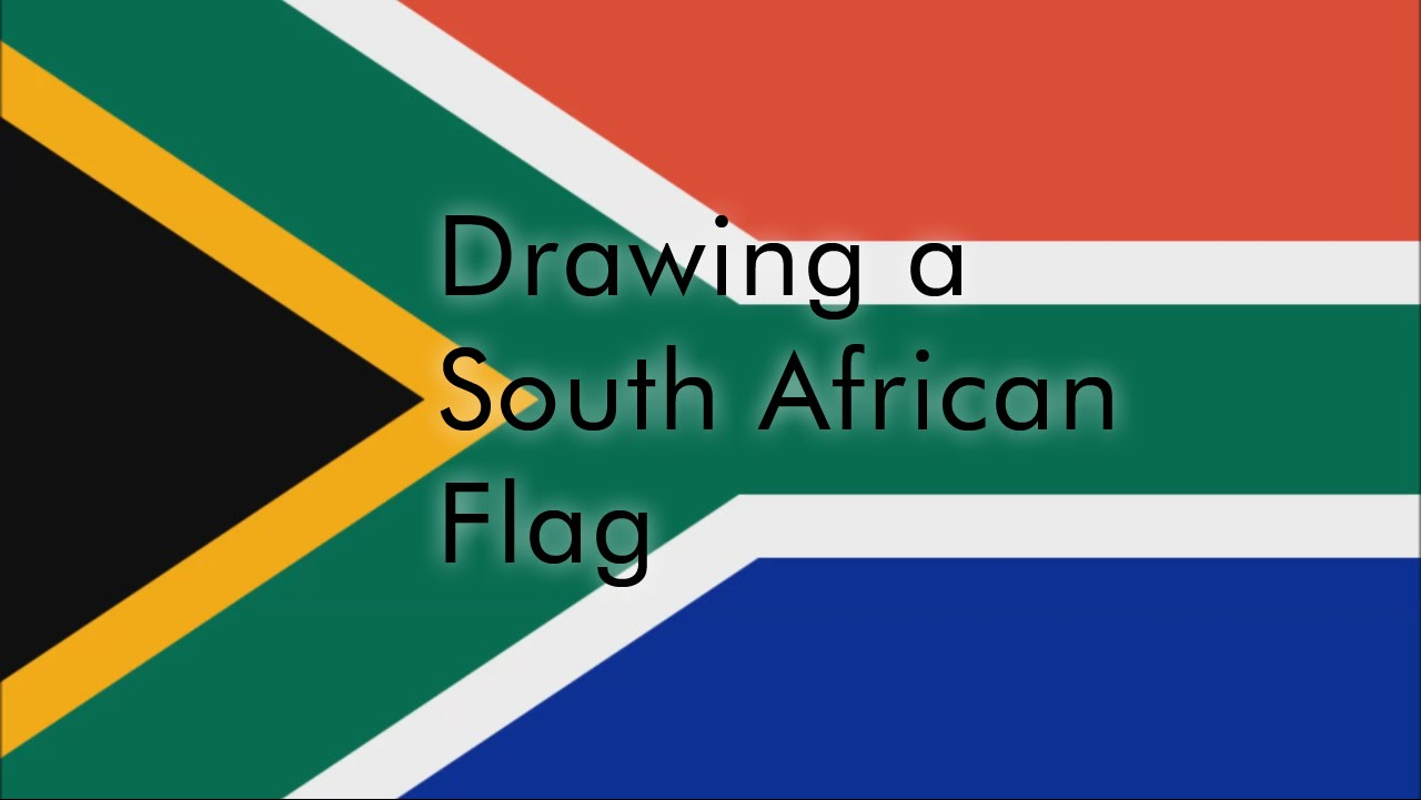 1280x721 How To Draw A South African Flag