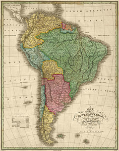236x300 South America Drawings Fine Art America