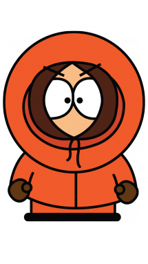 215x382 How To Draw Kenny From South Park, Cartoons, Easy Step By Step