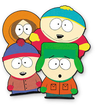 310x349 How To Draw South Park Characters