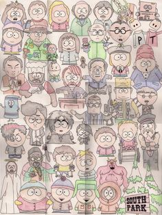 236x314 South Park Drawing Art Art School And Drawings