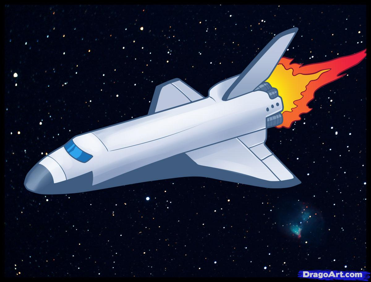 1200x912 How To Draw A Space Shuttle, Draw A Shuttle, Step By Step, Outer