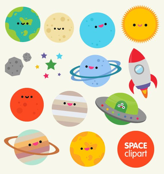 570x604 Space Clipart Commercial Use, Digital Planet Graphics Cartoon