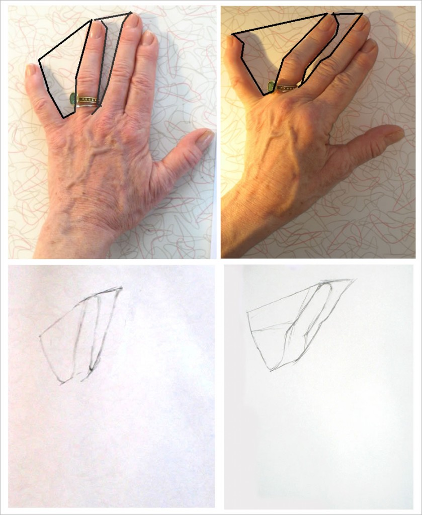 839x1024 Drawing Hands (Tutorial) Starting With Negative Space Art