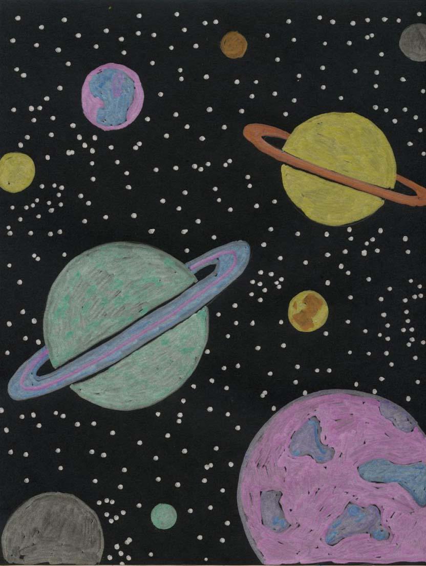 832x1106 Planet Drawing Fun
