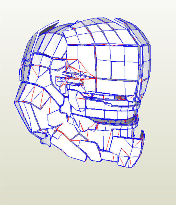 570x663 Dead Space 2 Cosplay Helmet Replica Pattern To Build Your Own