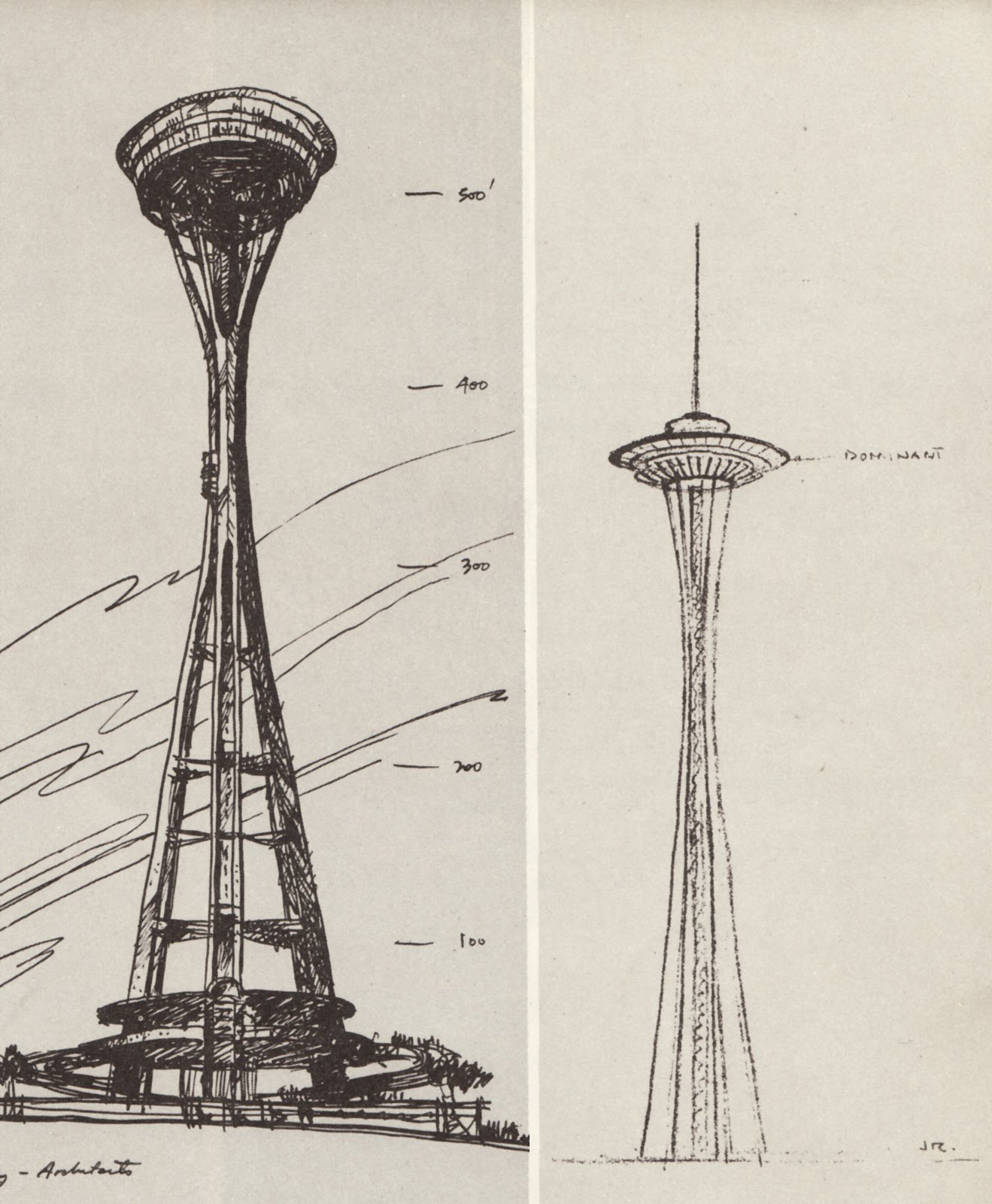 1319x1600 History Of The Space Needle