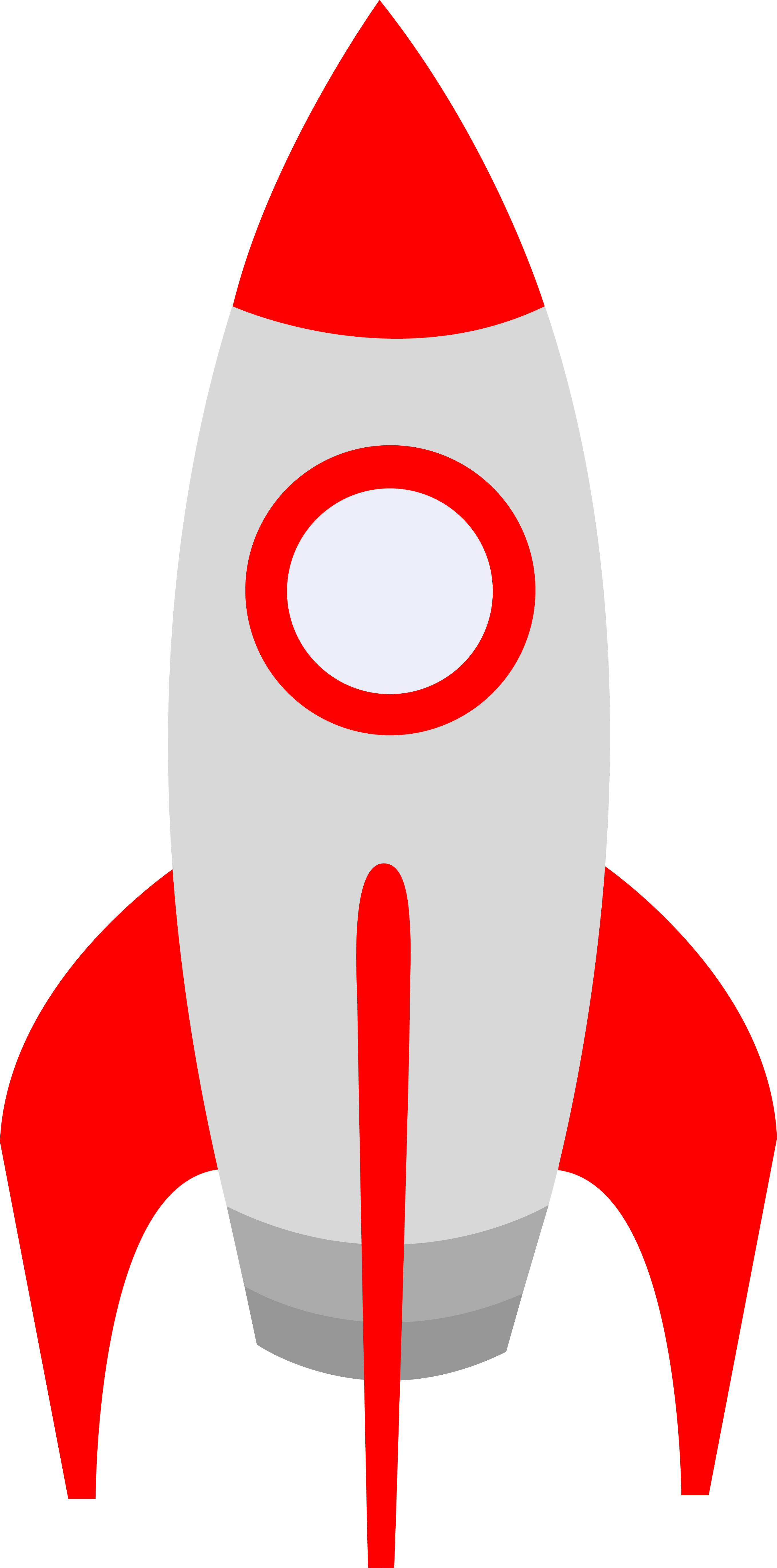 2716x5482 Small Red Retro Space Rocket
