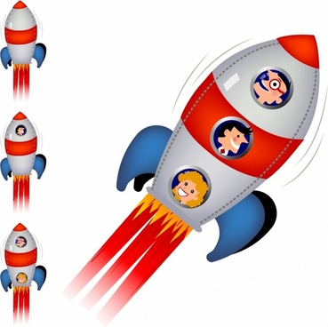 369x368 Space Rocket Drawing Free Vector Download (92,378 Free Vector)