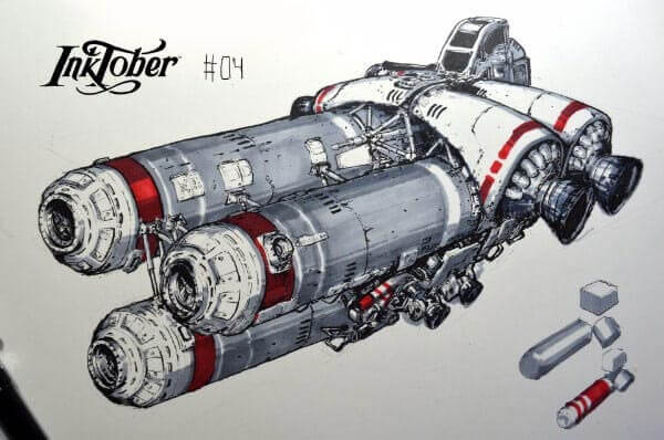 600x398 75 Cool Sci Fi Spaceship Concept Art Amp Designs To Get Your Inspired