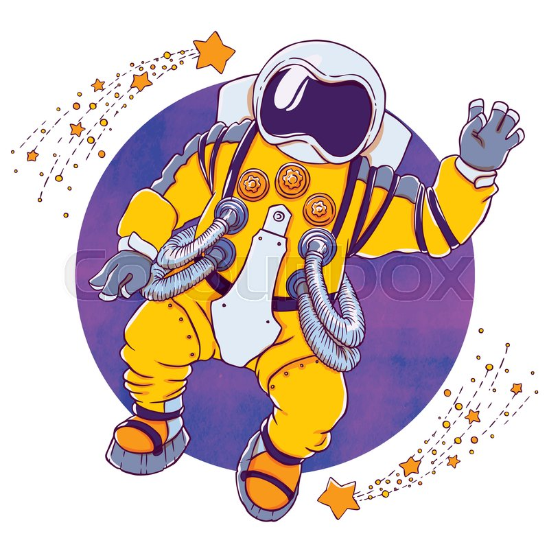 Space Suit Drawing At Getdrawings