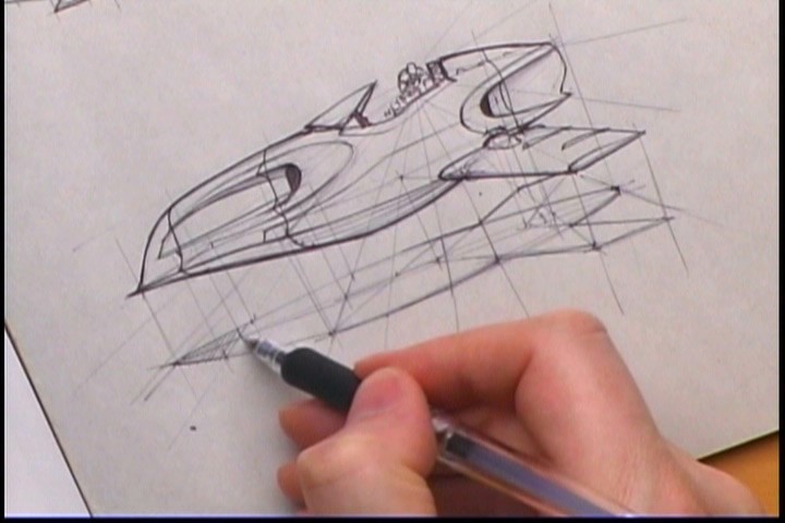 720x480 How To Draw Hovercraft And Spacecraft The Gnomon Workshop