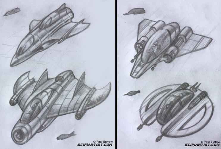 743x500 Spaceship