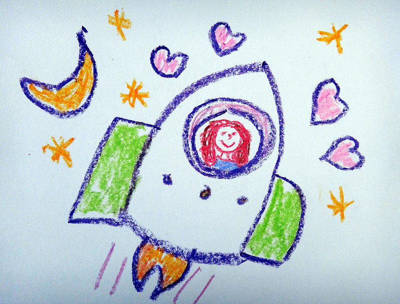 800x609 Rocket Drawings For Jade