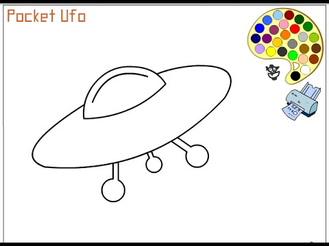 480x360 Spaceship Coloring Pages For Kids