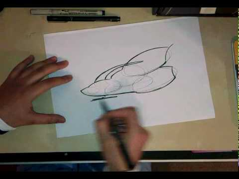 480x360 How To Draw A Spaceship Using Simple Shapes.