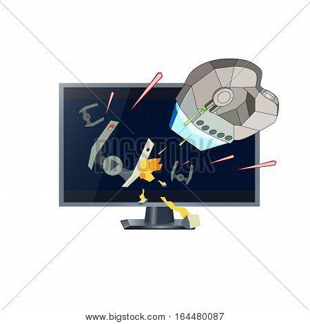 450x470 Realistic Tv Drawing Action Threed Vector Amp Photo Bigstock
