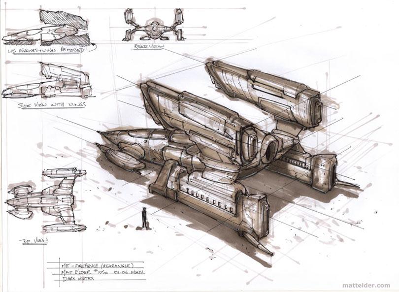 810x593 Concept Ships 2007