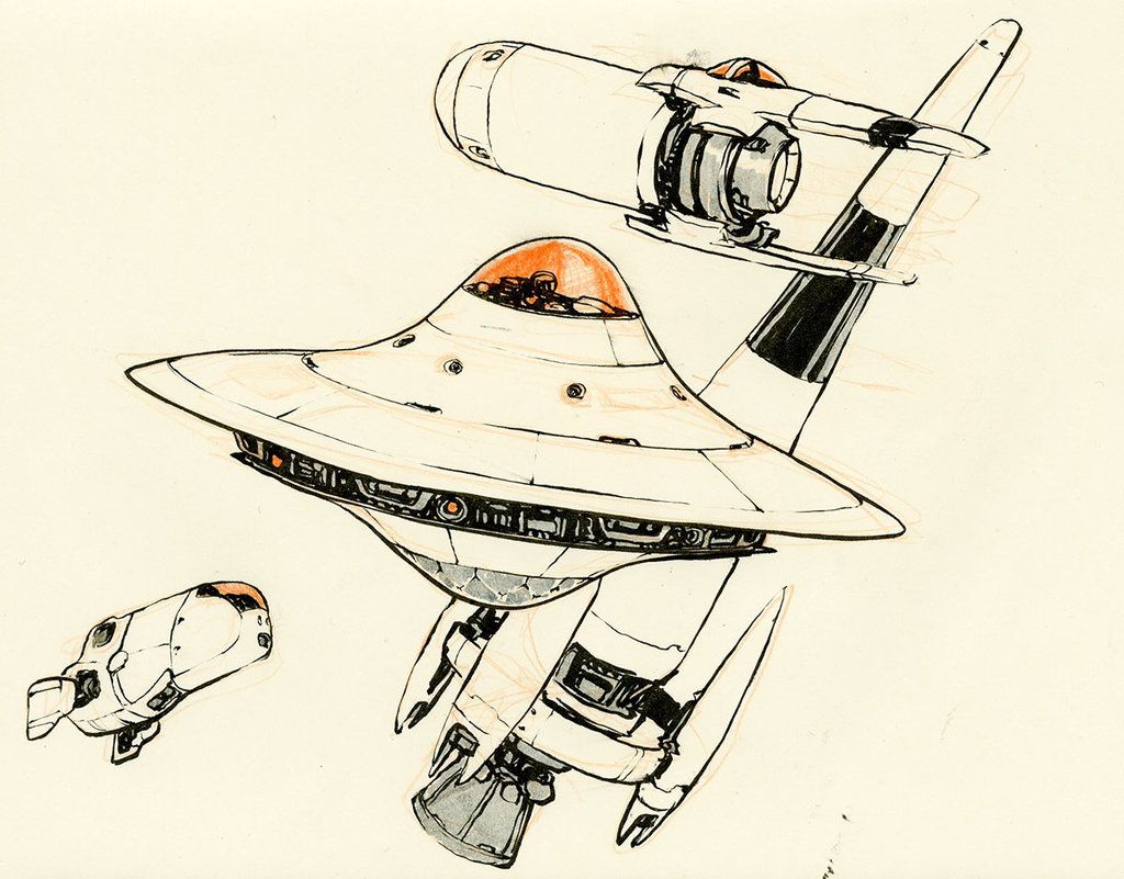 1024x801 More Spaceships By On @