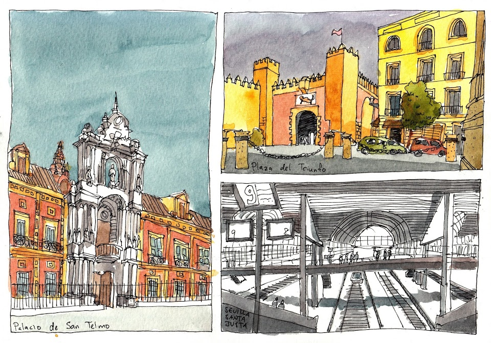 960x672 Sketches From My Spain Sketching Trip Parka Blogs