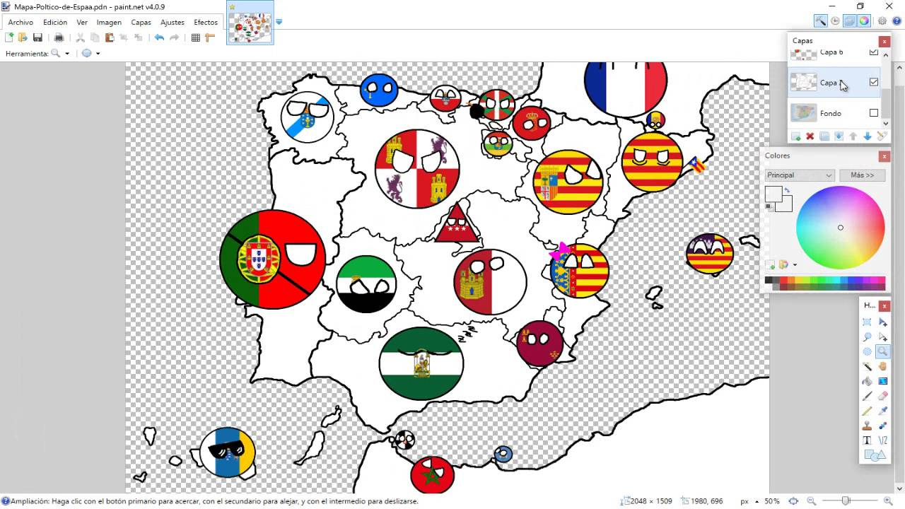 Spain map drawing at getdrawings free for personal use spain 1280x720 drawing map of spain part 3 other countries and dialogues gumiabroncs Choice Image