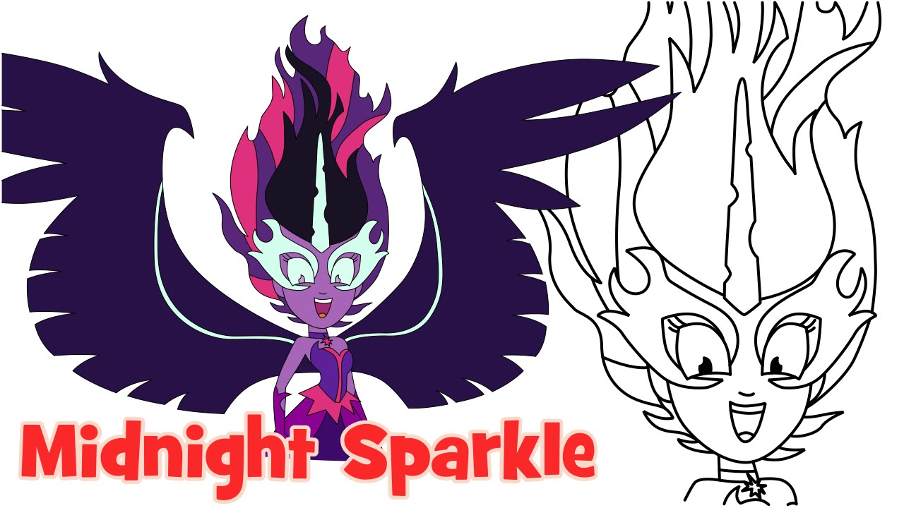 1280x720 how to draw midnight sparkle friendship games my little pony