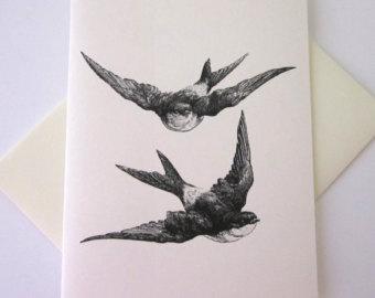 340x270 Sparrow Stationery Etsy