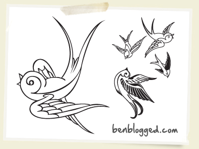 400x300 Tattoos Case Sparrow Tattoo Design Skin Deep