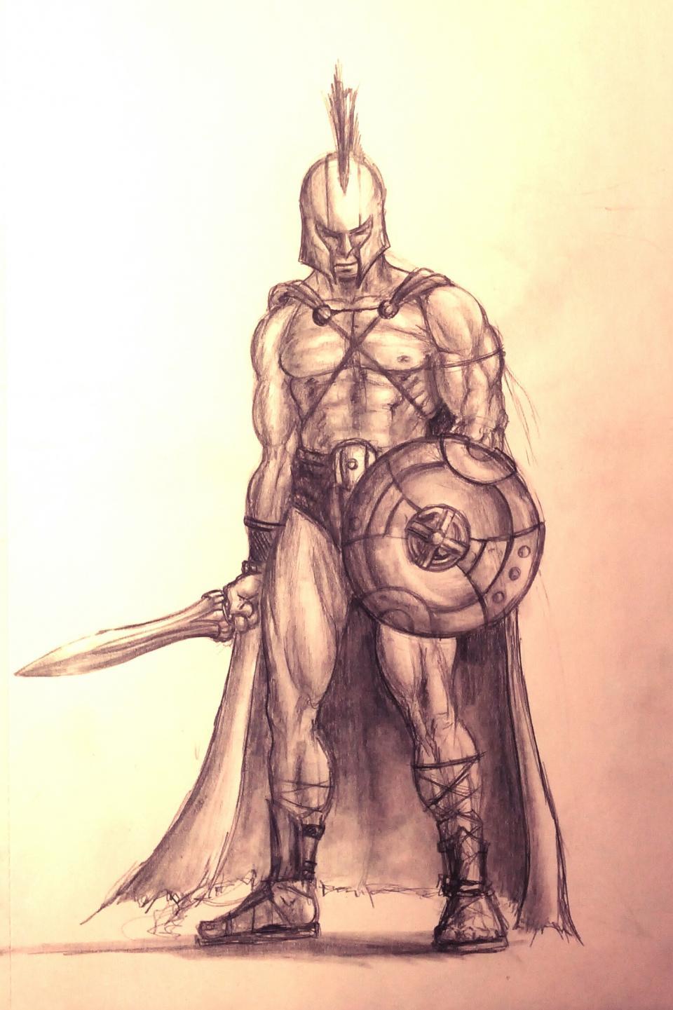 960x1441 Generic Spartangladiator Dude Anatomy