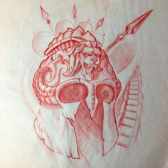640x640 Spartan Warrior Helmet Up For Grabs Email Jasonnicholsonart@gmail