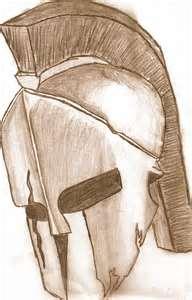 192x300 Spartan Helmet Drawing I14jpg Spartan Tatoo Ideas