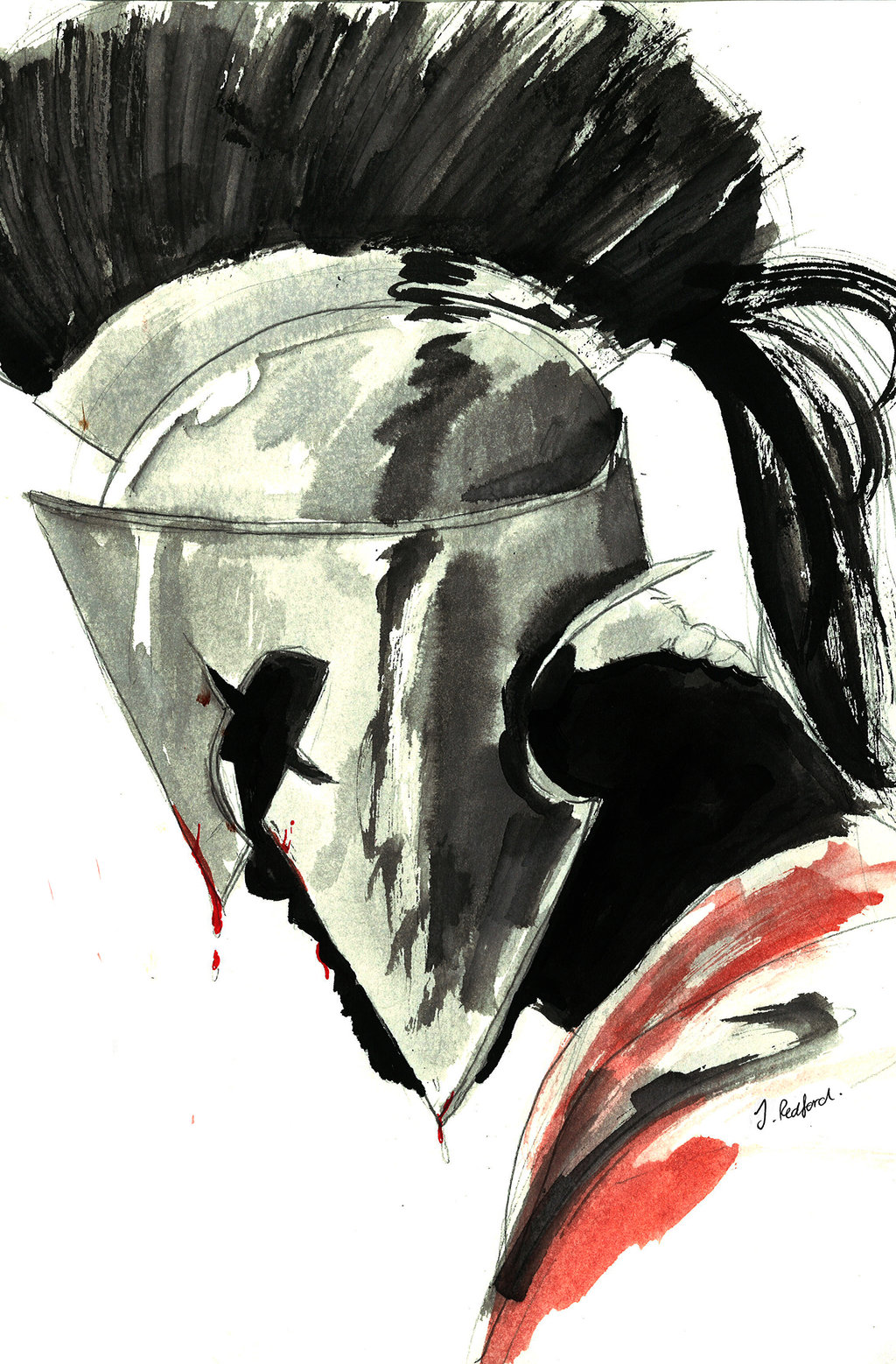 1024x1558 King Leonidas By On @