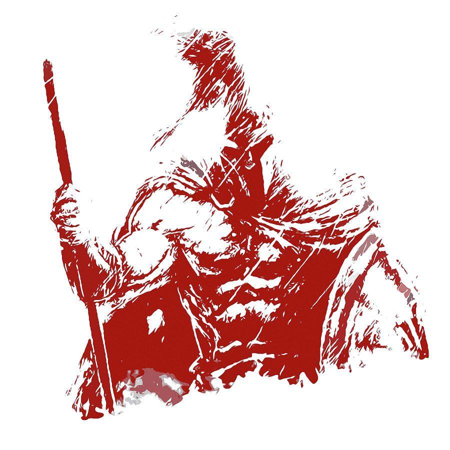 900x900 Spartan Warrior
