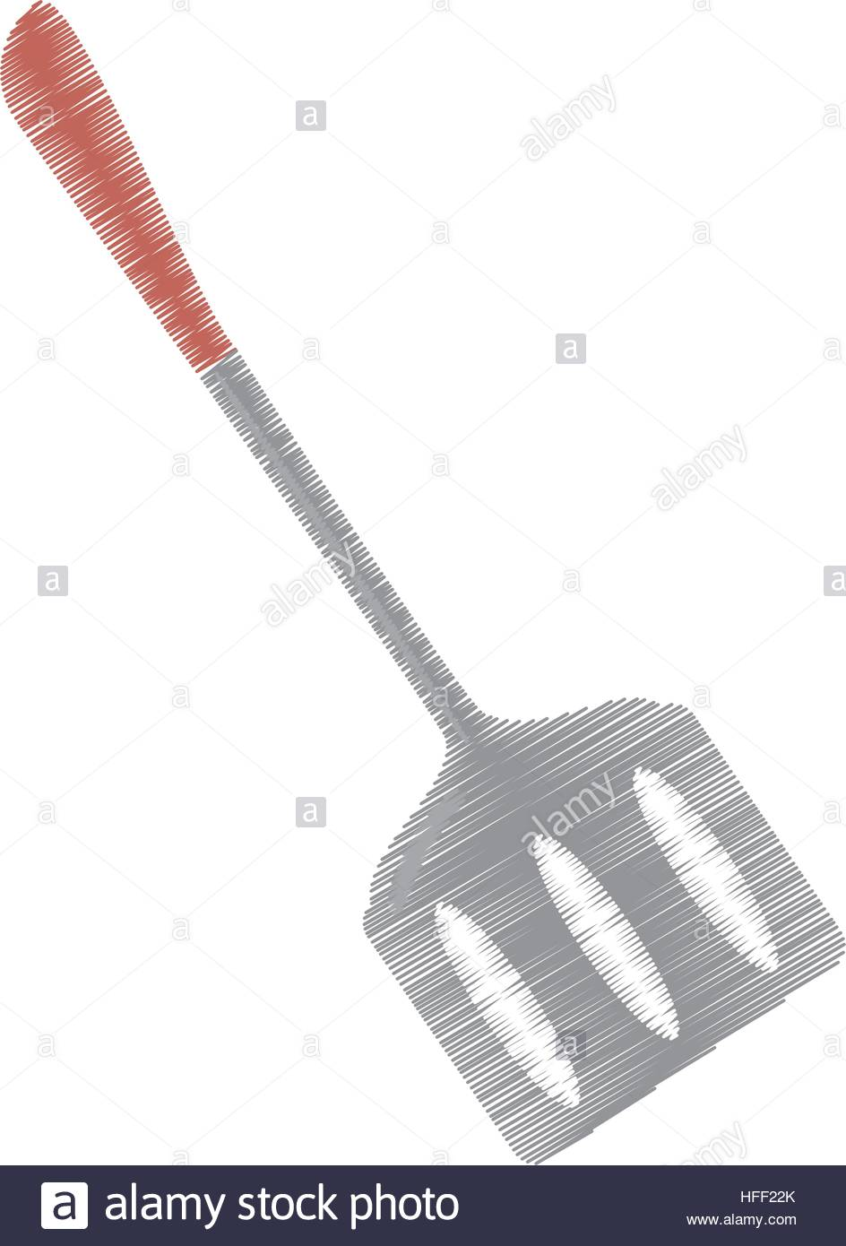944x1390 Drawing Spatula Kitchen And Cooking Utensils Stock Vector Art